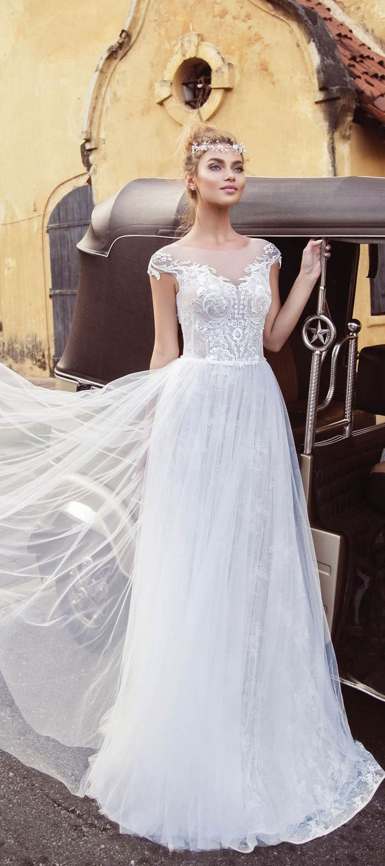 Lanesta Wedding Dresses - embellishment wedding dress, wedding gown | itakeyou.co.uk #weddingdress #weddinggown #weddingdresses #bridedress