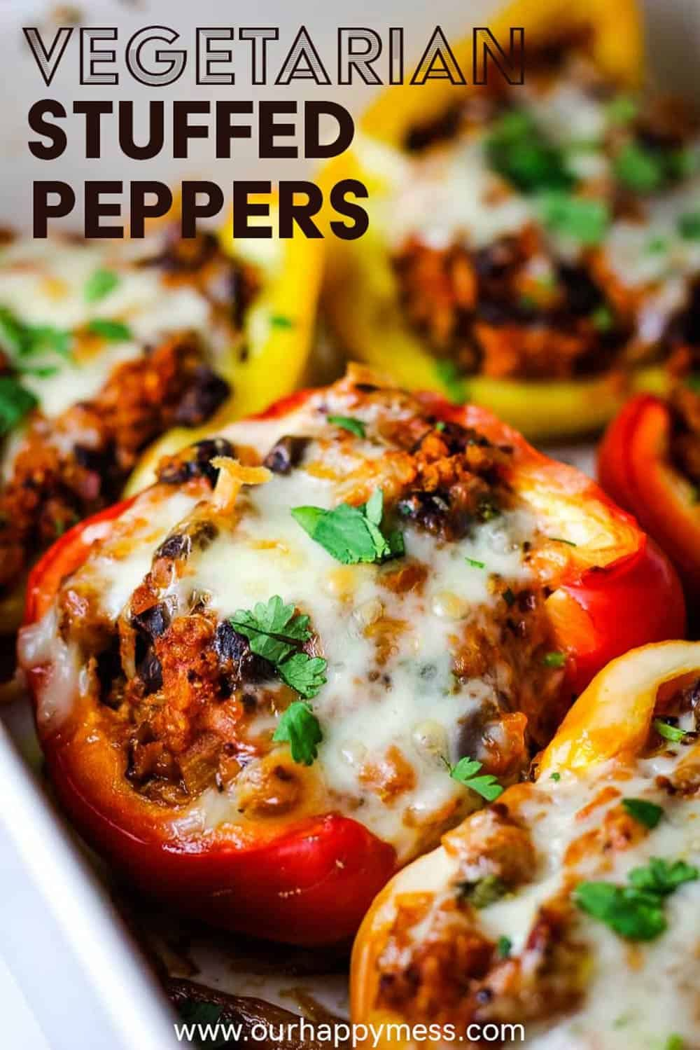 Vegetarian Stuffed Peppers Mexican Style Recipe In 2020 Vegetarian Stuffed Peppers Stuffed Peppers Recipe Vegetarian Stuffed Peppers