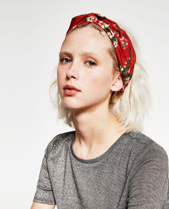 turban haarband mit blumen hair pinterest blumen. Black Bedroom Furniture Sets. Home Design Ideas