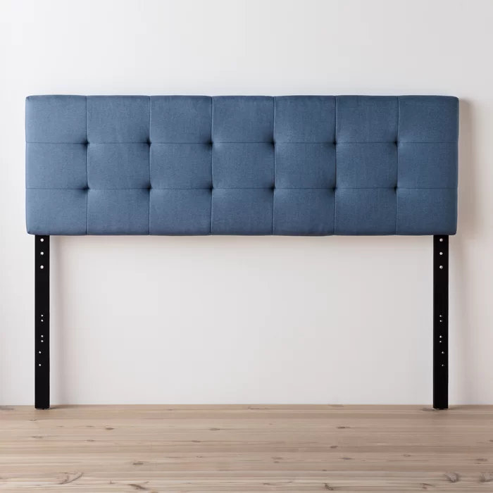 Cy Square Tufted Adjustable Upholstered Panel Headboard in