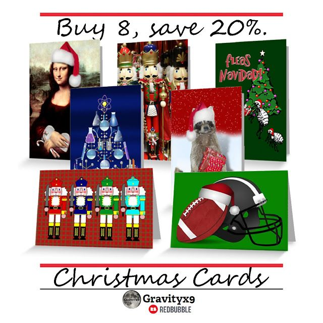 Start Shopping for Unique Christmas Cards ~ On Sale at Redbubble