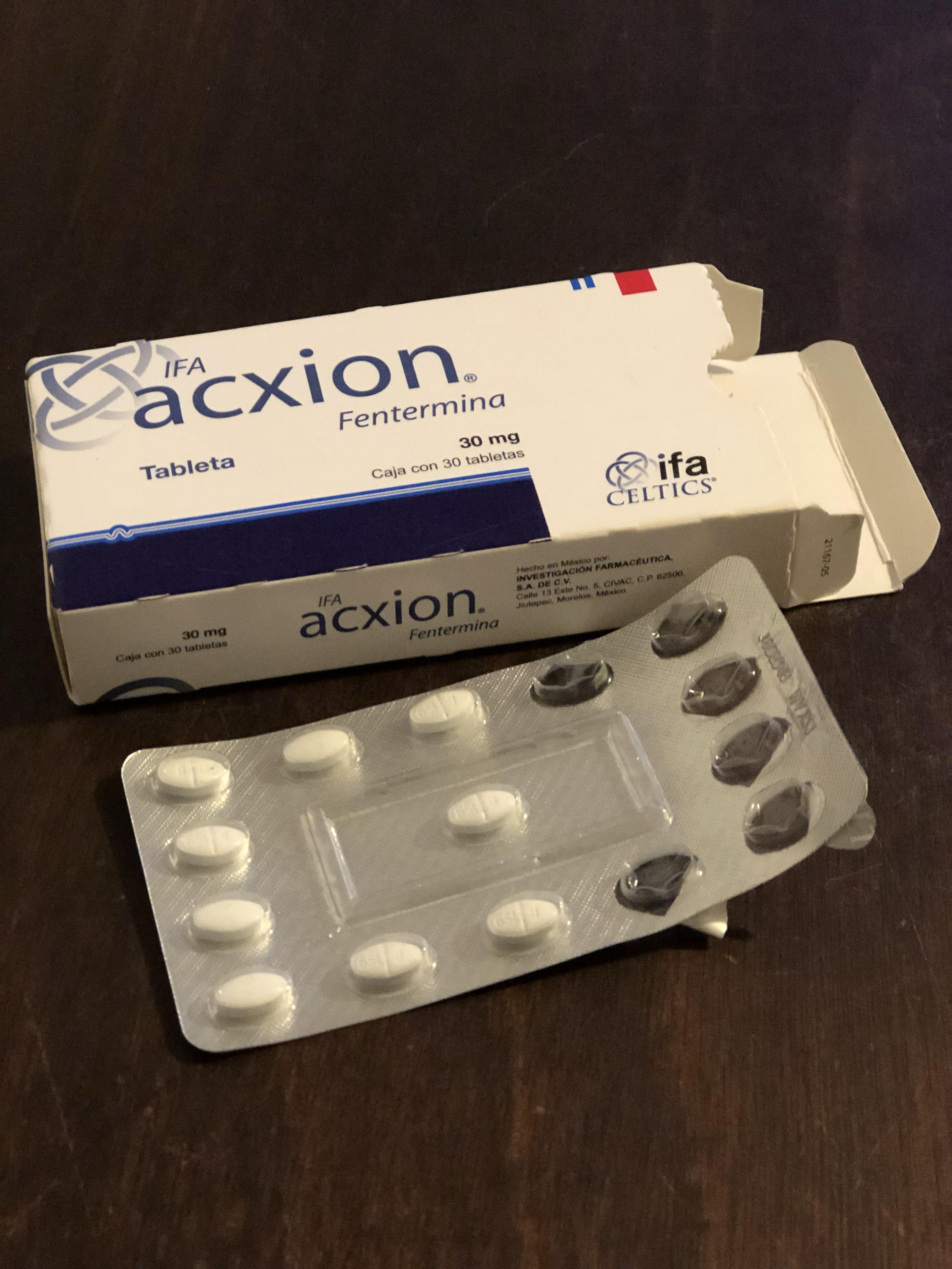 Las pastillas acxion son buenas para bajar de peso