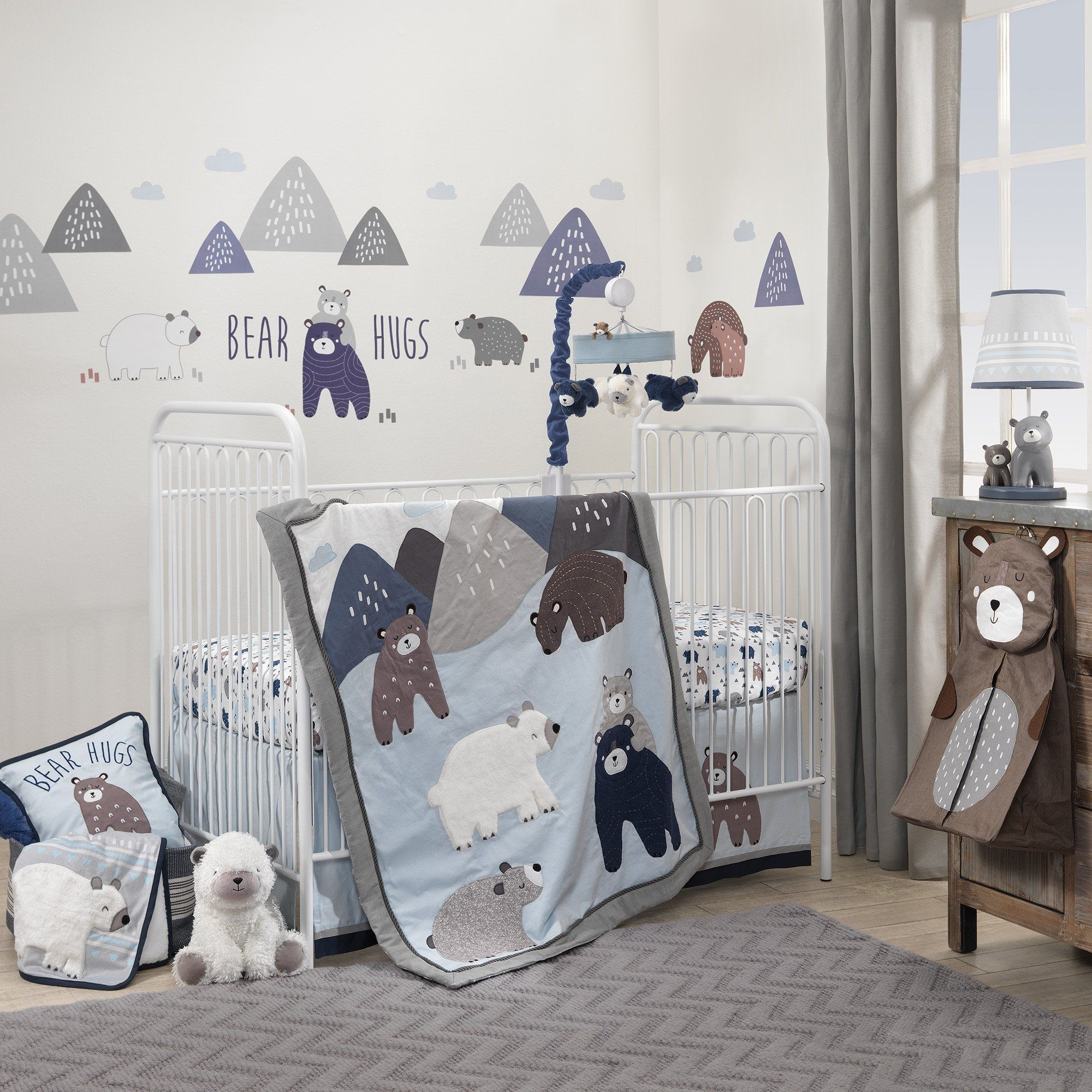 Signature Montana 6 Piece Crib Bedding Set Crib Bedding Boy Crib Bedding Crib Bedding Sets