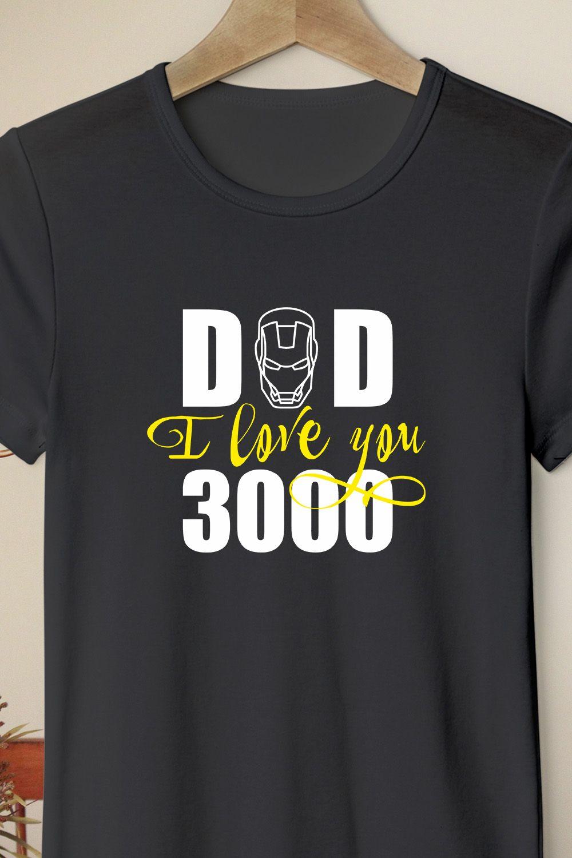 Download Dad I love you 3000 SVG Dad Superhero SVG Papa Shirt I ...