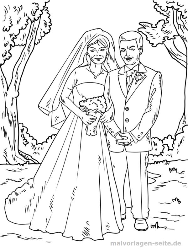 Malvorlage Hochzeit Feiertage Kostenlose Ausmalbilder Bilder Zum Ausmalen Ausmalen Ausmalbilder
