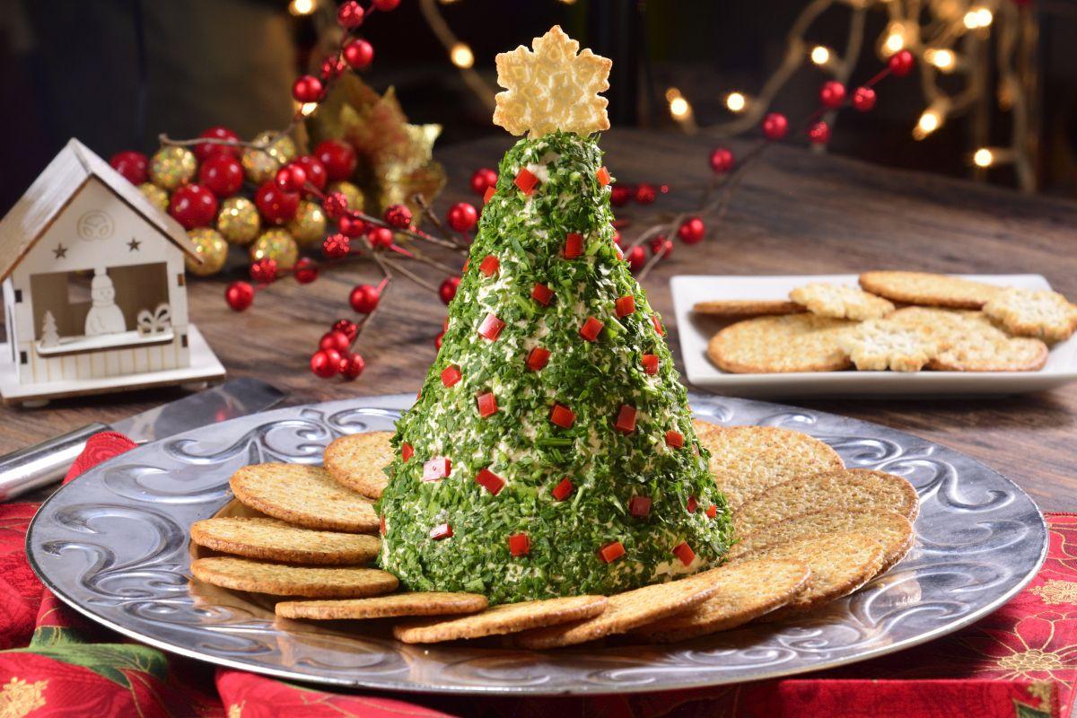 Botana de rbol de navidad receta cenas navide as en for Cenas faciles y economicas
