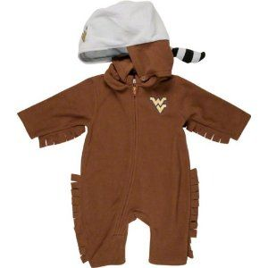 9876691bf West Virginia Mountaineers Toddler Fleece Costume | Andrea | West ...