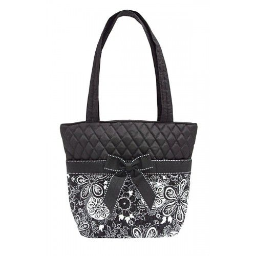 """Mary Maxim - Quilted Purse - Vera Bradley """"Inspired"""" 100% Cotton Bag."""