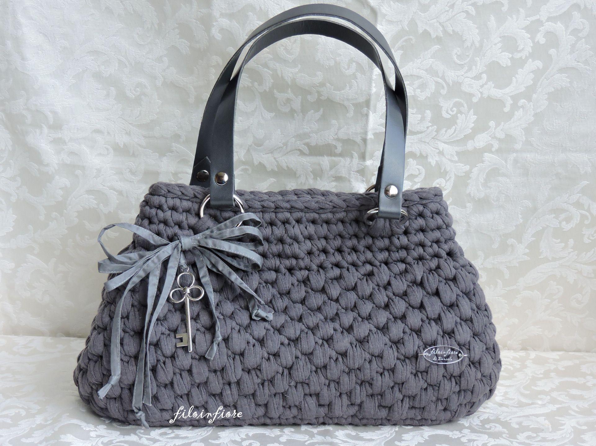 Borse ad uncinetto cerca con google borse pochette zaini ecc fatti a mano borse for Schemi borse uncinetto