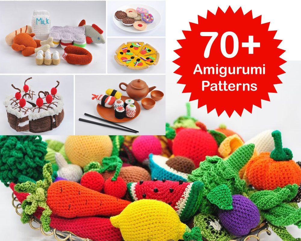 Amigurumi pattern 70 crochet play food by veronicakaycrochet amigurumi pattern 70 crochet play food by veronicakaycrochet bankloansurffo Choice Image