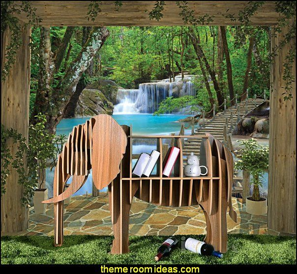 jungle themed furniture. Fun Animal Themed Furniture For Jungle Bedrooms, Rain Forest Bedroom Decorating Ideas And E