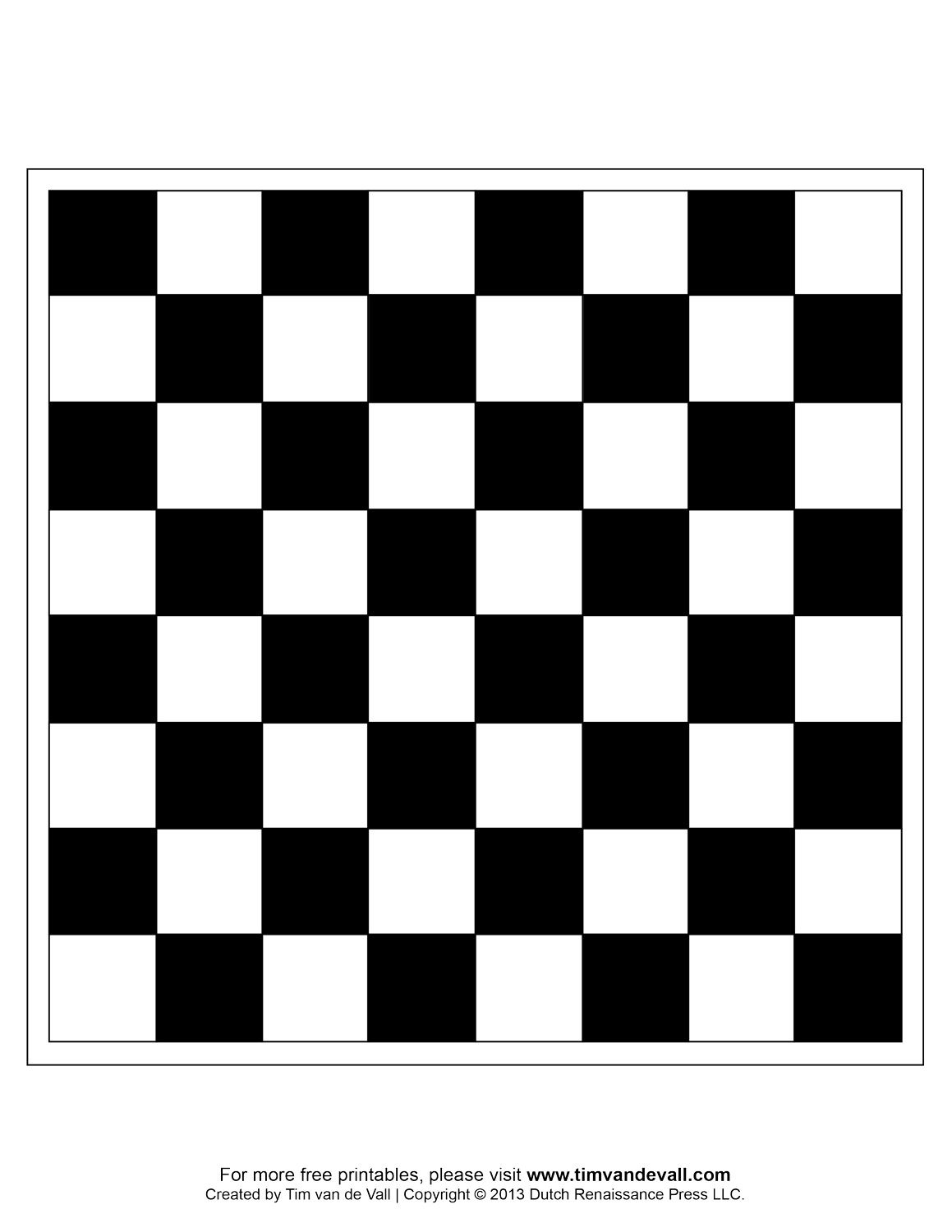 Timvandevall Free Printable Chess Boards And