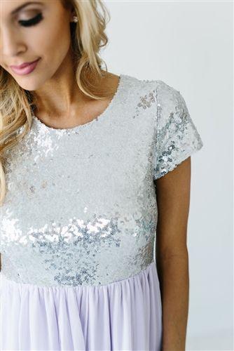 Lavender Silver Modest Bridesmaids , modest dresses, best place to buy modest…