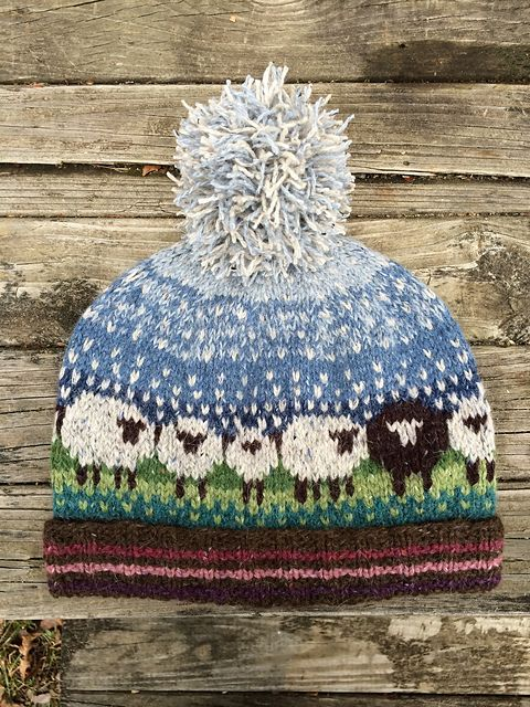 Tara Fair Isle Hat pattern by Country Pine Designs || Kathleen ...