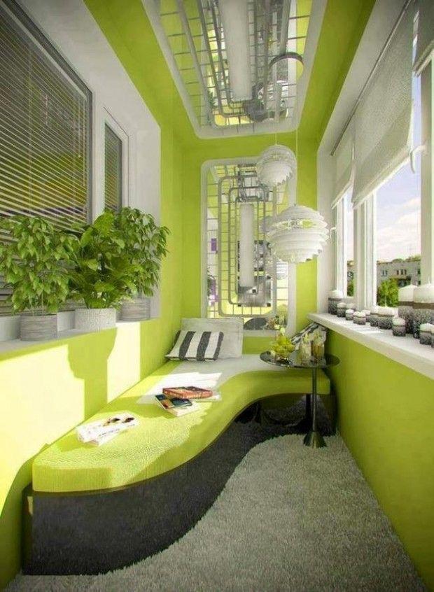 Balkonunuzu Evin En İyi Yeri Haline Getirecek 20 Harika Fikir #ideasforbalcony