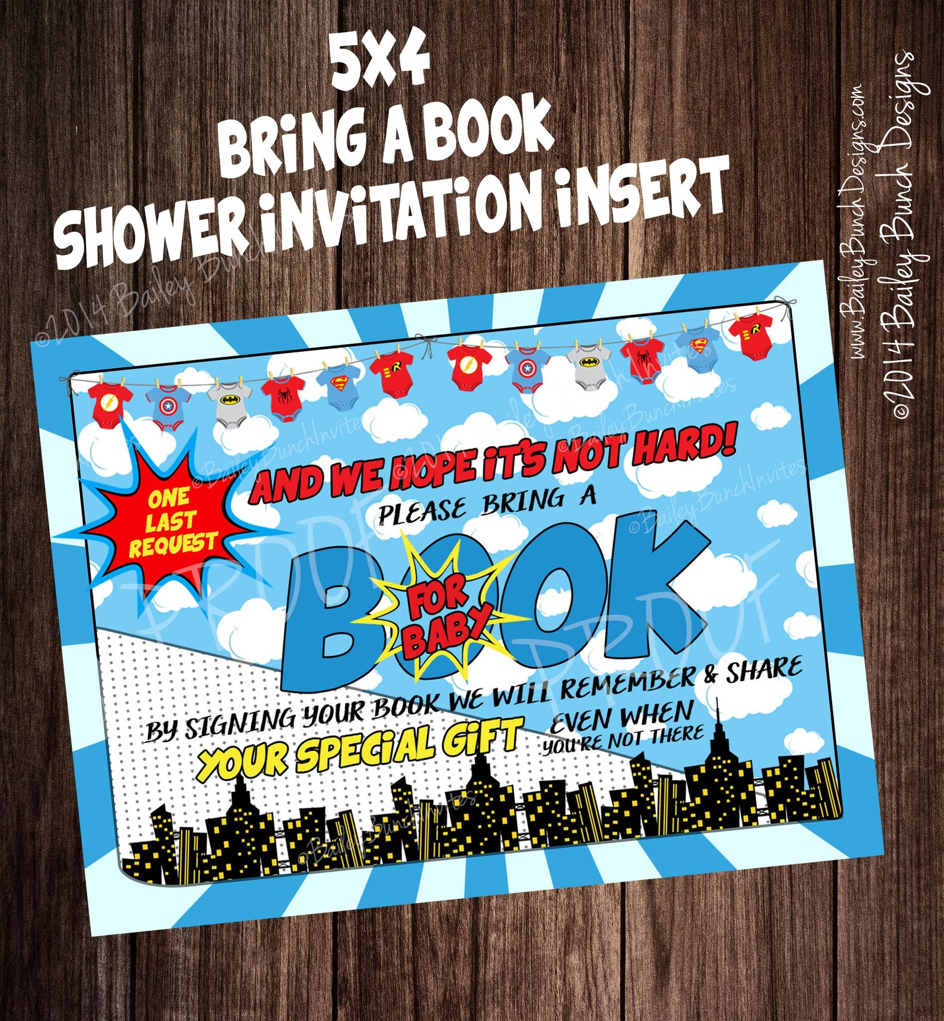 Superhero Baby Shower Invitations BABYHEROINVITE0520 | Invitations ...