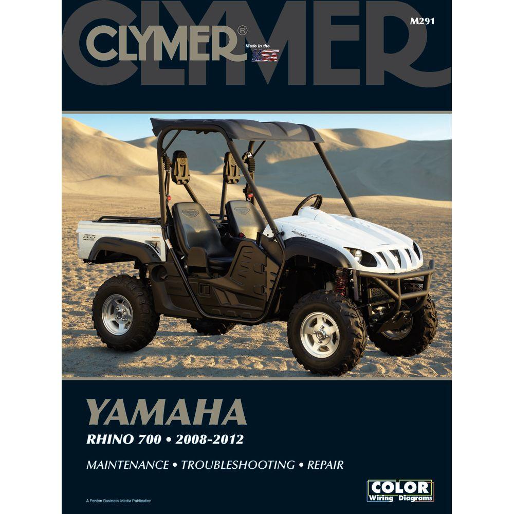 Clymer Yamaha Rhino 700 2008 2012 Boat Parts For Less Clymer Repair Manuals Yamaha
