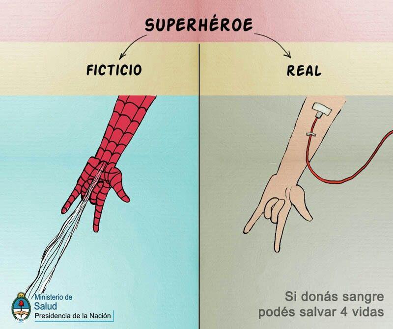 Super héroes reales.