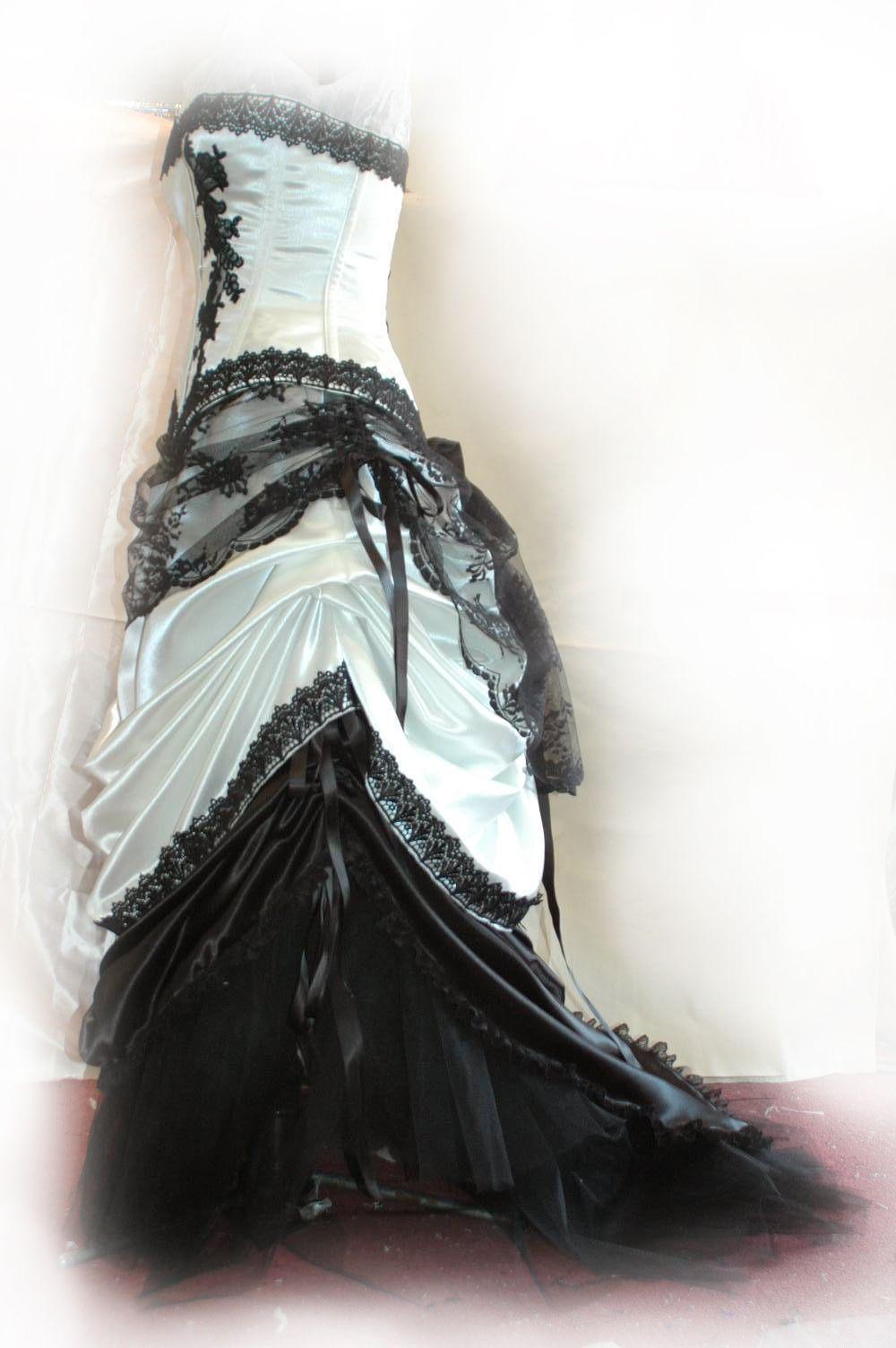 Black victorian wedding dresses corsets and bridal dresses