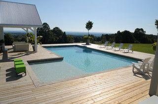 L Shaped Pool Rectangular Pool Pool Shapes Modern Pools