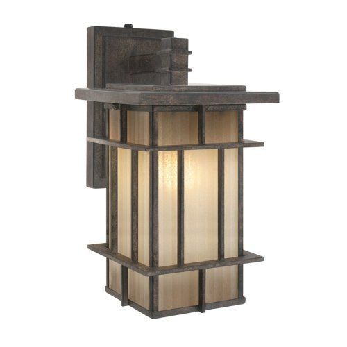 Golden Lighting 10705 S WI Tucson Collection Outdoor Sconce, By Golden  Lighting. $56.64