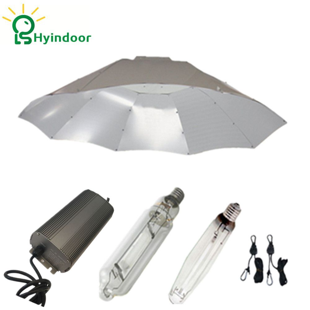 250w Hps Mh Grow Lights System With Digital Dimmable Ballasts And Parabolic Lamp Covers Shades Led Grow Lights Diy Grow Lights Diy Grow Lights