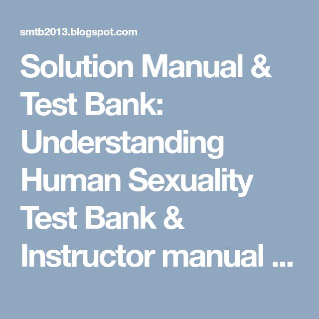 Understanding human sexuality test bank