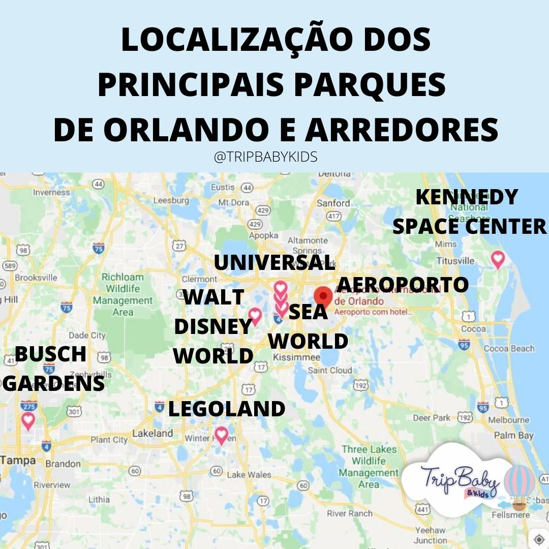 Many people have doubts about where the Orlando parks are. And nothing better than …