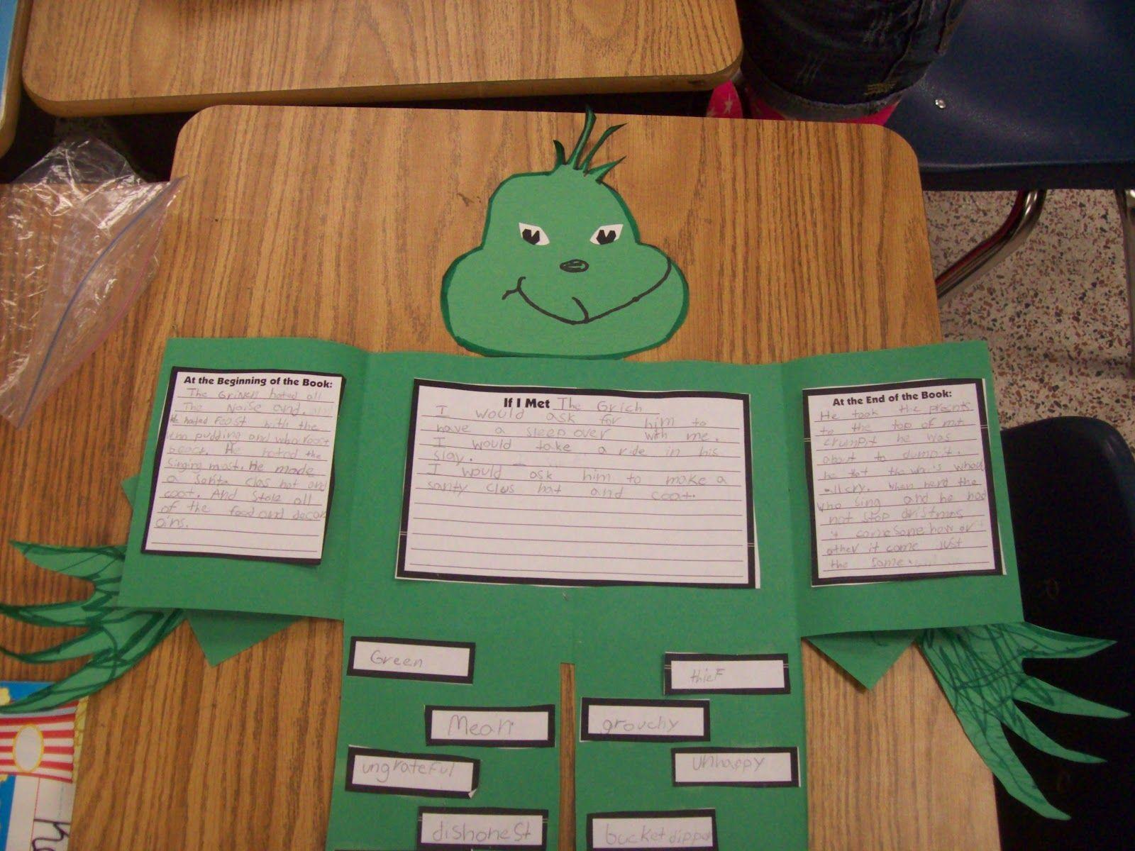 Dr Seuss Project Children Choose Character From Seuss
