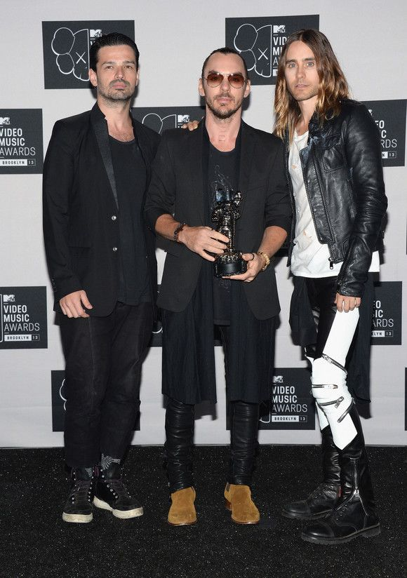 Let's Hear It For The Boys! MTV VMAs 2013 -30 Seconds To Mars