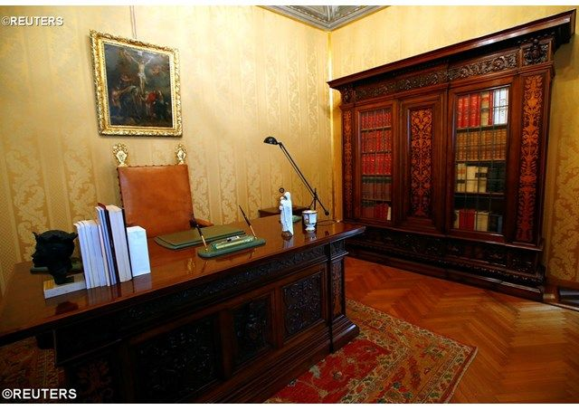 Rv Papal Apartments At Castel Gandolfo Open To The Public
