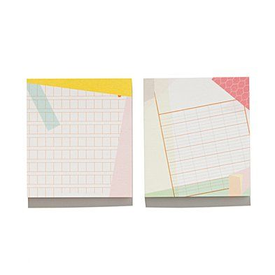 Pansydaisy® for Top Hat Sticky Note Two-Pack
