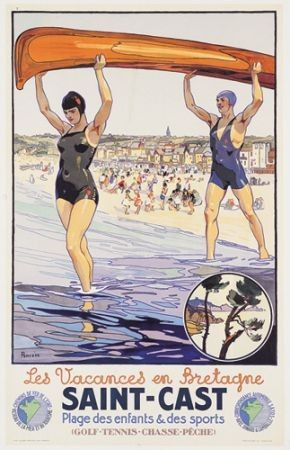 Affiche publicitaire - Tourisme