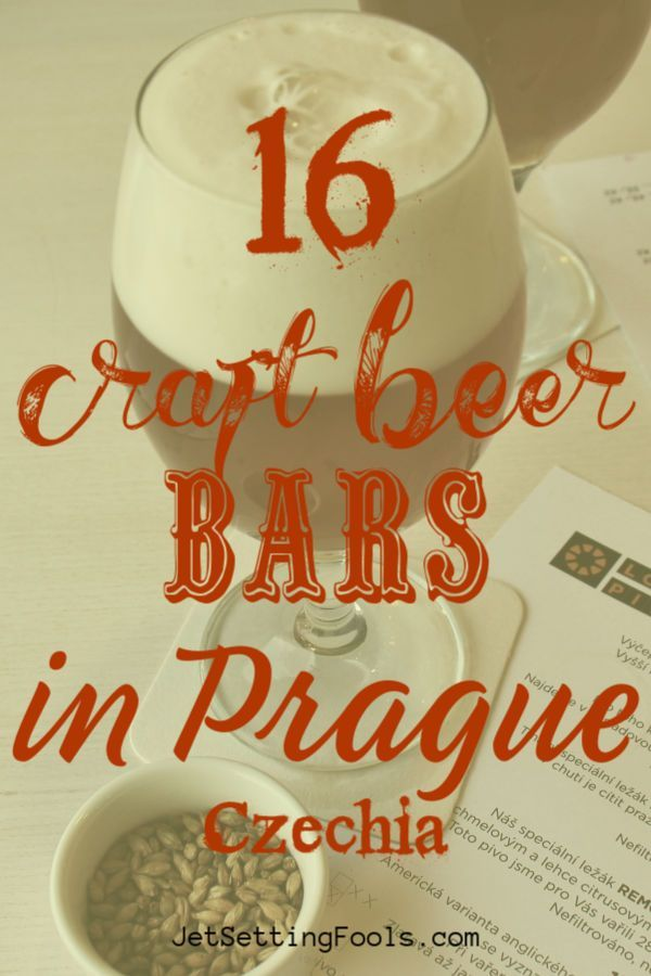 16 Places to Drink Craft Beer in Prague, Czech Republic - Jetsetting Fools -  The Czech Republic is many things – it's history, architecture, art…and it's beer. The coun - #Beer #craft #Czech #Drink #Fools #Historyarchitecture #Historymap #Historymuseum #Historysubject #Jetsetting #places #Prague #Republic