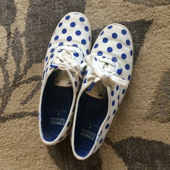Blue Polka Dot Shoes Kate Spade - Best Wallpaper ...