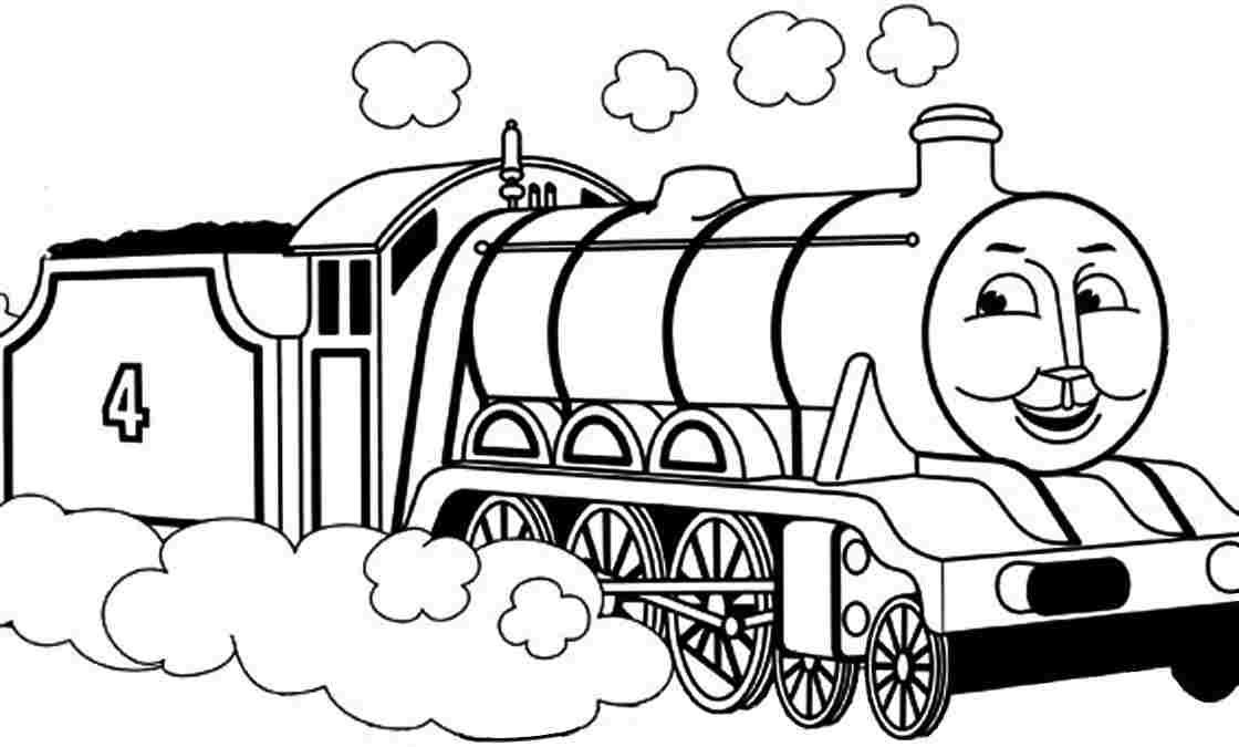 Coloring Pages Cartoon Thomas And Friends Gordon For Kids