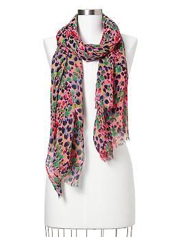 Ditsy floral scarf - Gap