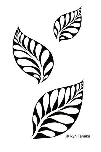 Pin By Tianna Lyn On Creativity Supplies Leaf Stencil Flower Stencil Stencils