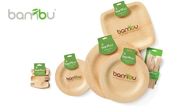 Bambu All Occasion Veneerware Bamboo Plates  sc 1 st  Pinterest & Bambu All Occasion Veneerware Bamboo Plates | Food for SS party ...