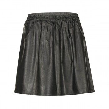 Dept Skirt Woven smooth fake leather