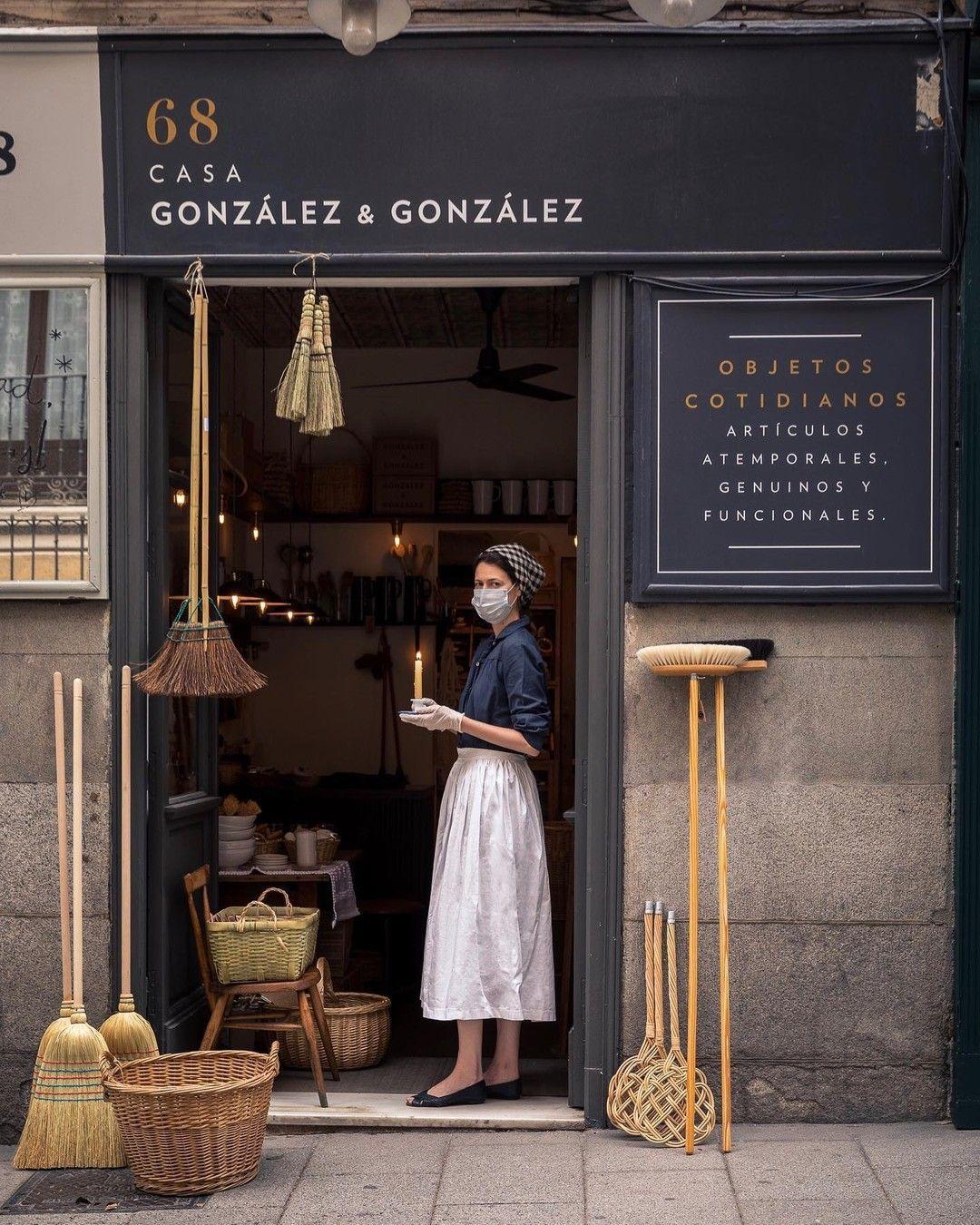 Casa González González Madrid Gonzalezygonzalezstore A Beautifully Poignant Reminder Of Our New Normal Sharingaworldofsho Shop Interiors Facade Store Front