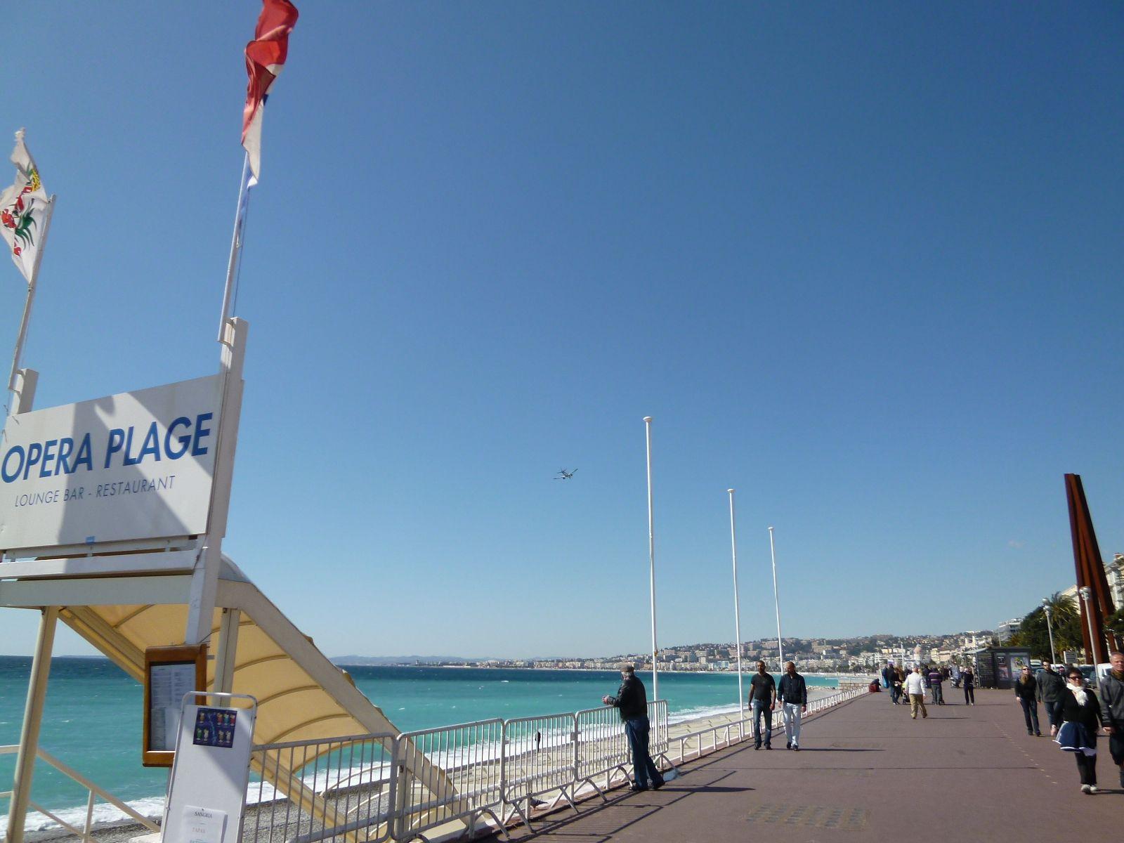 """""""Promenade des Anglais"""" Nice France (Marzo)"""