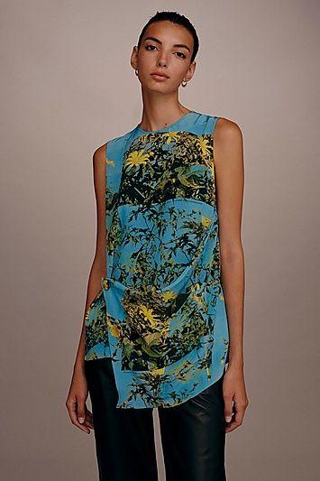 a3a82c903d4 Womens   Popper Wrap Top by Boutique - Blue