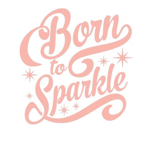 Born To Sparkle Decal Sparkle Decal Baby Decal First Born