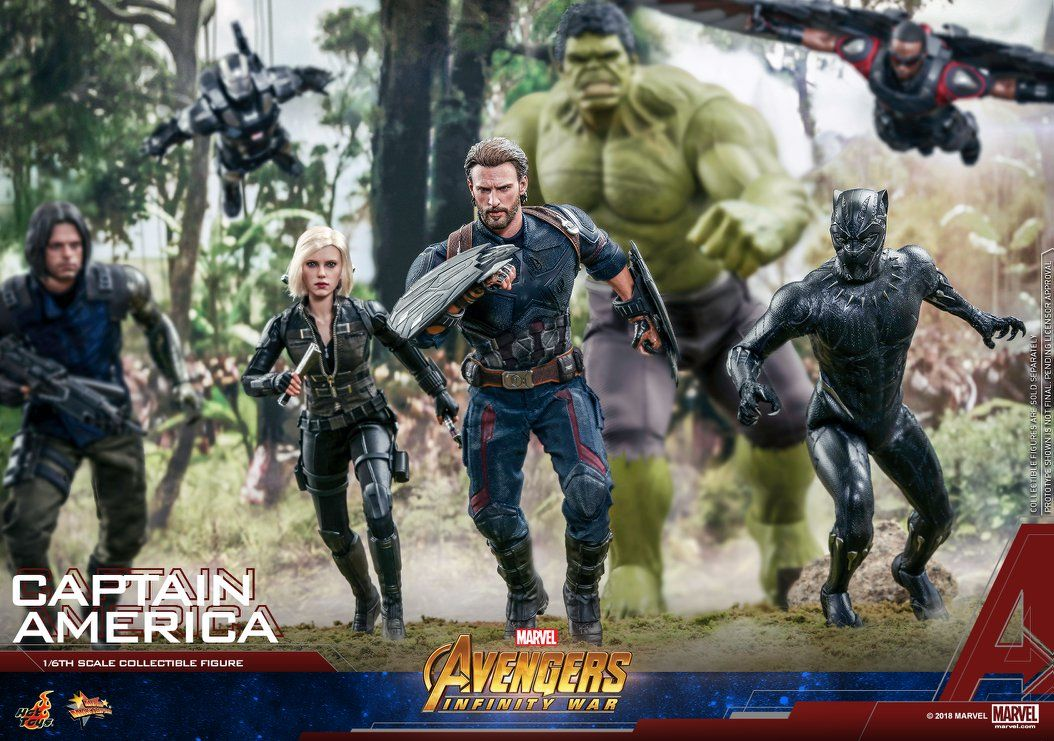 Hot Toys Avengers Infinity War Captain America Hot Toys Captain