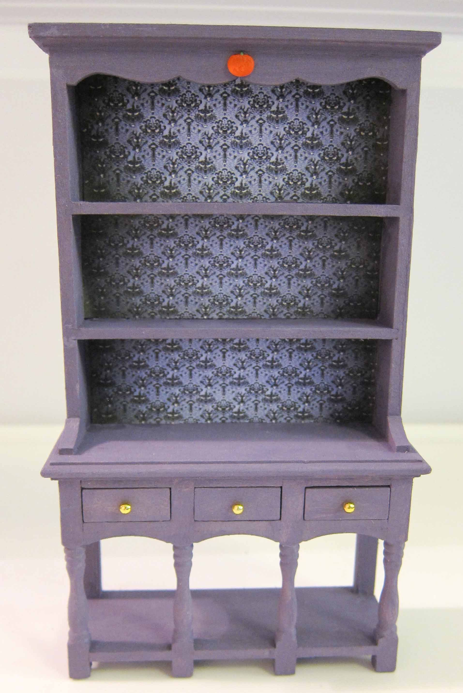 Dollhouse Miniature Halloween Furniture Th Scale Ooak Witch