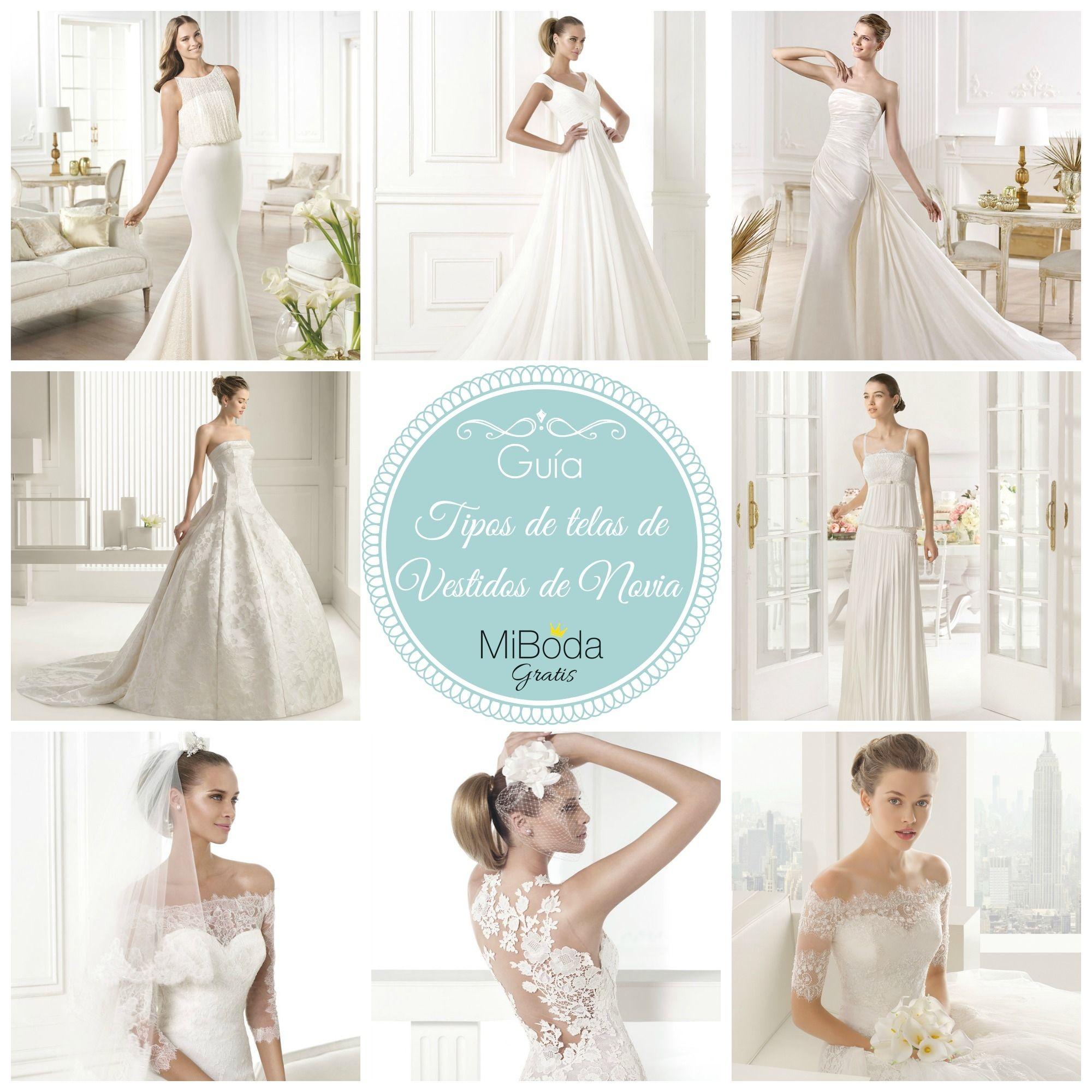 Primera parte de la Guía de tipos de telas de Vestidos de Novia del ...