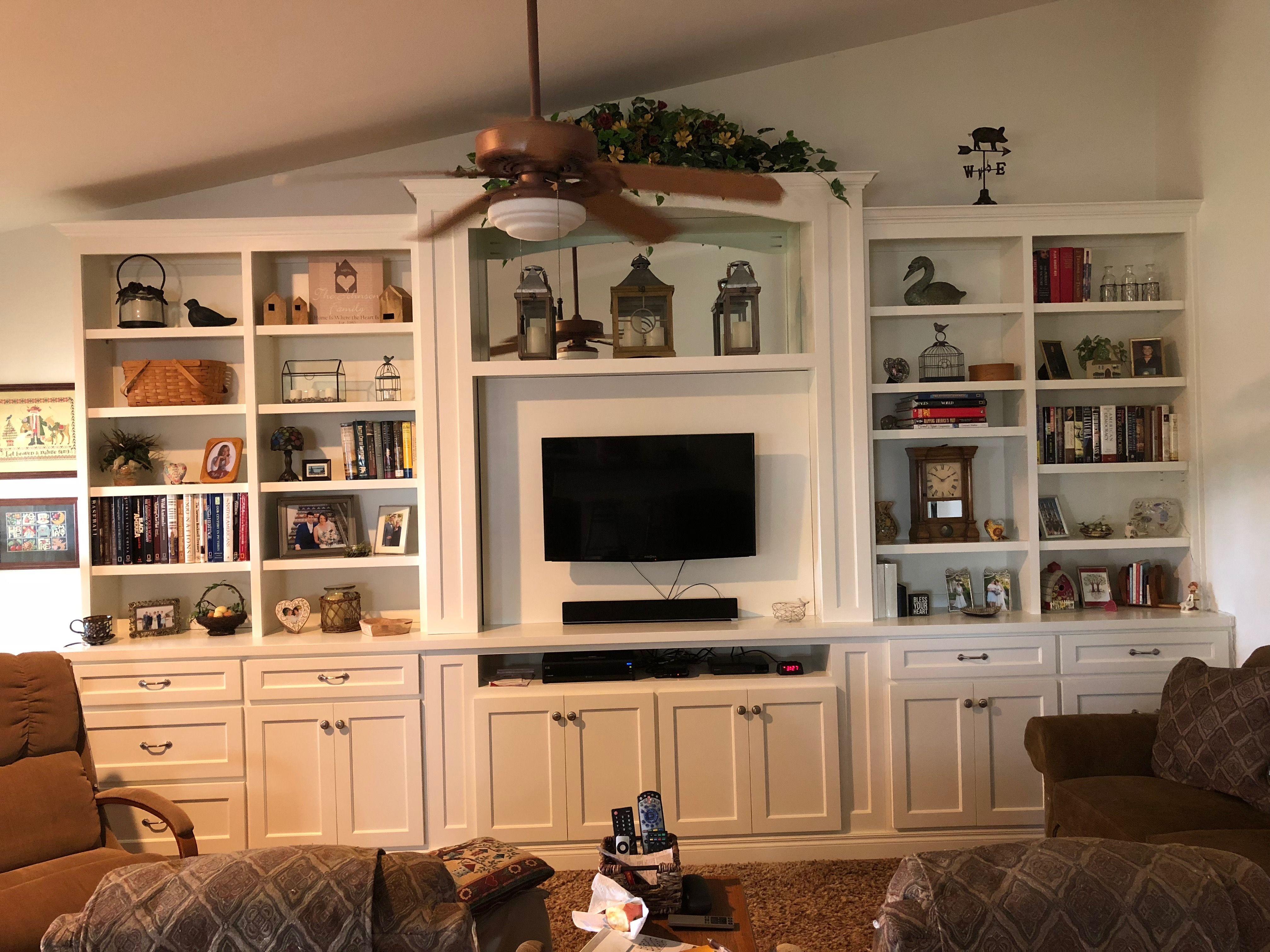 Modern Farmhouse Wall Unit Decorations Home Decor Living