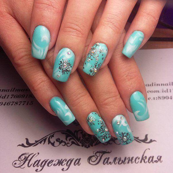 Nail Art #1355 - Best Nail Art Designs Gallery | Winter nails and ...