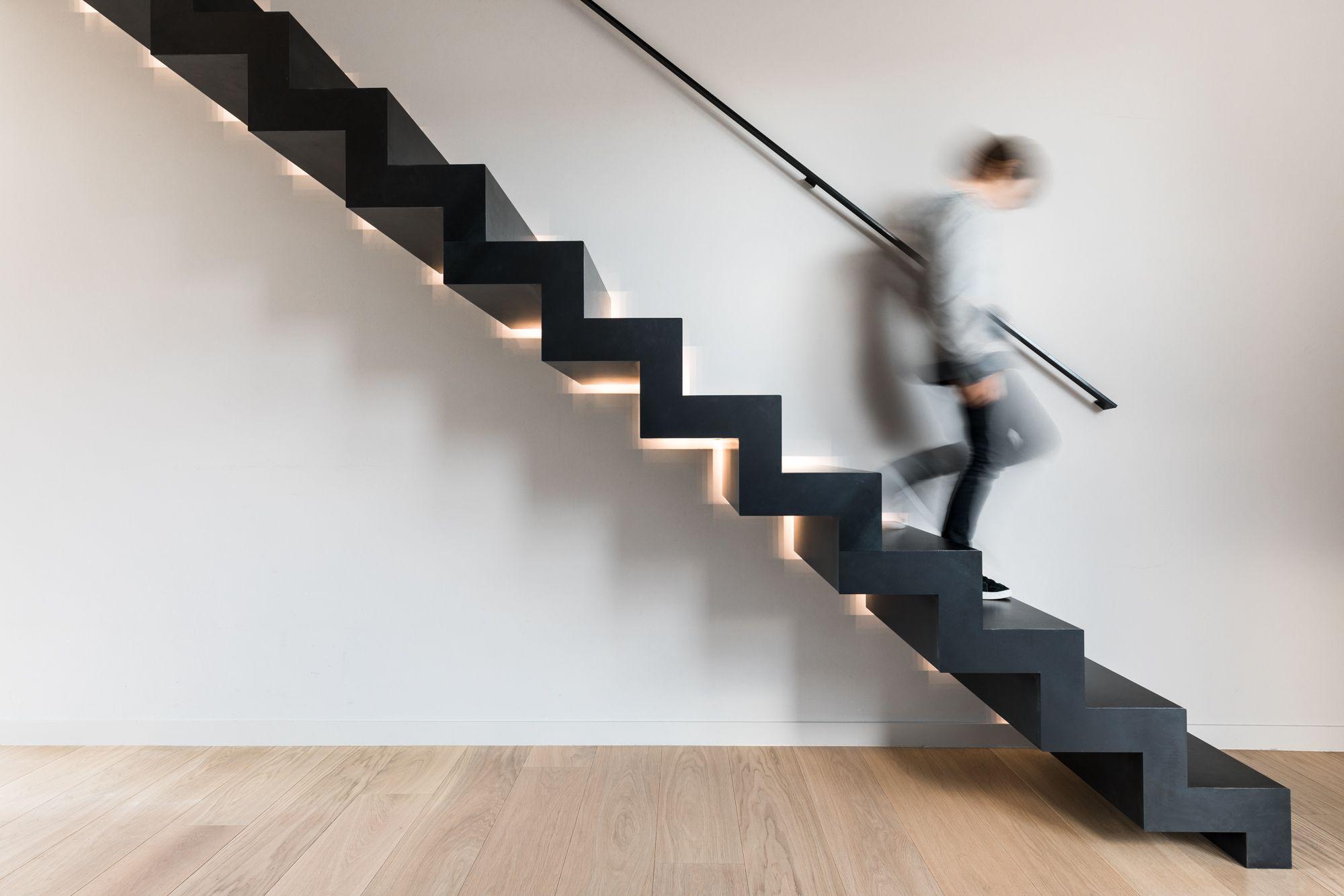 Een nieuwe trap met een geweldige visuele kracht onze black